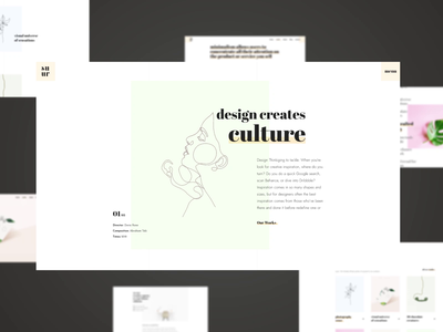 Suru. minimalistic minimalism minimalist first design uimotion animation debute firstshot first ux website style minimal web typography clean interface design ui
