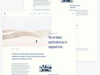Minimal Blog Page v1 update