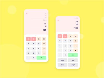 Calculator App Screens