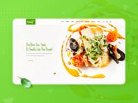 Sea food home page