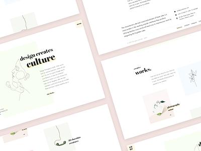 Suru - Home version 01 responsive simple clean interface interface trendy typography webdesign website web clean ui clean uidesign uiux ui minimalism minimal