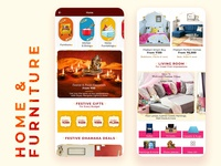 Flipkart's Home and Furniture Page
