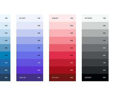 Color ui ux web web design colour color pallete color palette design systems design tokens styles css primitives system designops