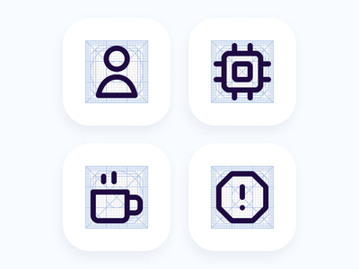Icons desktop android ios clean primitives ux ui web design mobile web icon system design systems system icons