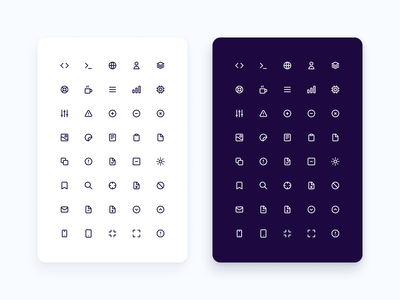 Icons System system icons icon system css primitives web design web ios android mobile figma icon set design systems system fresh clean icons ux ui