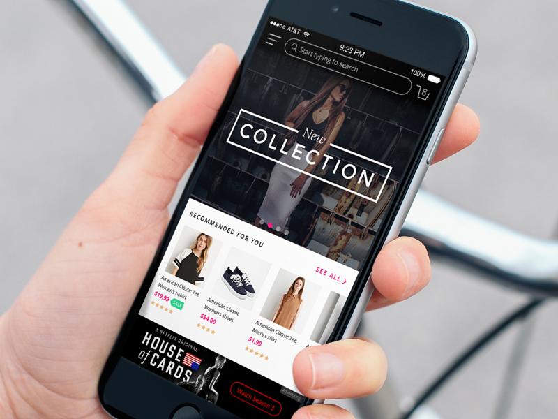 Store UI ui kit ui sources mobile design web design ecommerce trend clean fresh ios mobile ux ui