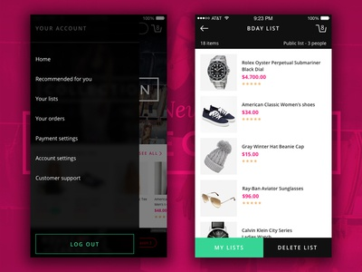 Store UI Kit ui kit ios iphone flat fresh web mobile ux ui store ecommerce clean