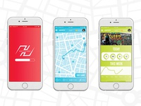 Huffy Adventure—Mobile App