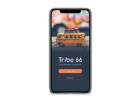 Tribe 66 // Sign-up Page // Daily UI Challenge