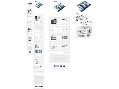 Portfolio Website product design ios white space user experience ux user interface ui