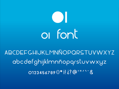 OI font type typography font design font