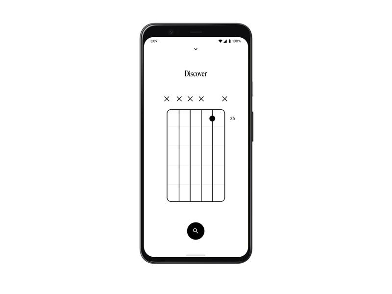 Colorful Chords - Discover music app music art musician song ui interface brazilian app digital design app dictionary designer guitar songs music chords design