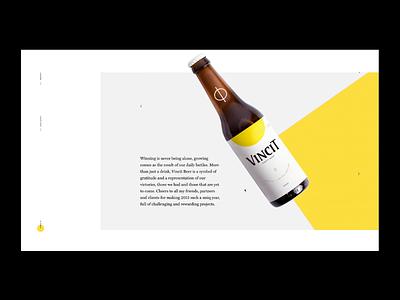 Vincit Beer - Special Edition illustration logo interaction minimal webdesign website inteaction graphic brazil interface designer site beer packaging brazilian web portfolio design