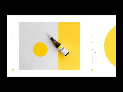 Vincit Beer - Special Edition layout website animation motion interaction behance ui event brand digital designer site interface design photo gallery