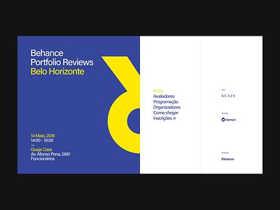 9th Bēhance Portfolio Reviews Belo Horizonte event ui digital site interface brazil graphic web design portfolio