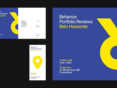 9th Bēhance Portfolio Reviews Belo Horizonte reviews event graphicdesign minimal branding graphic brazil behance ui digital site interface brazilian web portfolio
