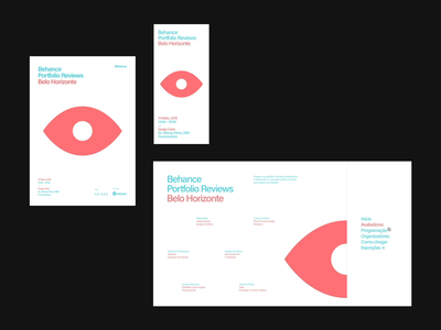 9th Bēhance Portfolio Reviews Belo Horizonte ui branding event behance webdesign interaction motion digital designer site interface brazil graphic brazilian web portfolio design