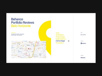 9th Bēhance Portfolio Reviews Belo Horizonte digital designer site interface brazil graphic brazilian web portfolio design