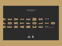 Behance Portfolio Reviews #10 - Site - Home