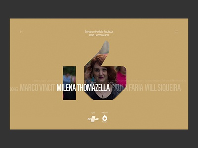 Behance Portfolio Reviews #10 - Site - Organizadores