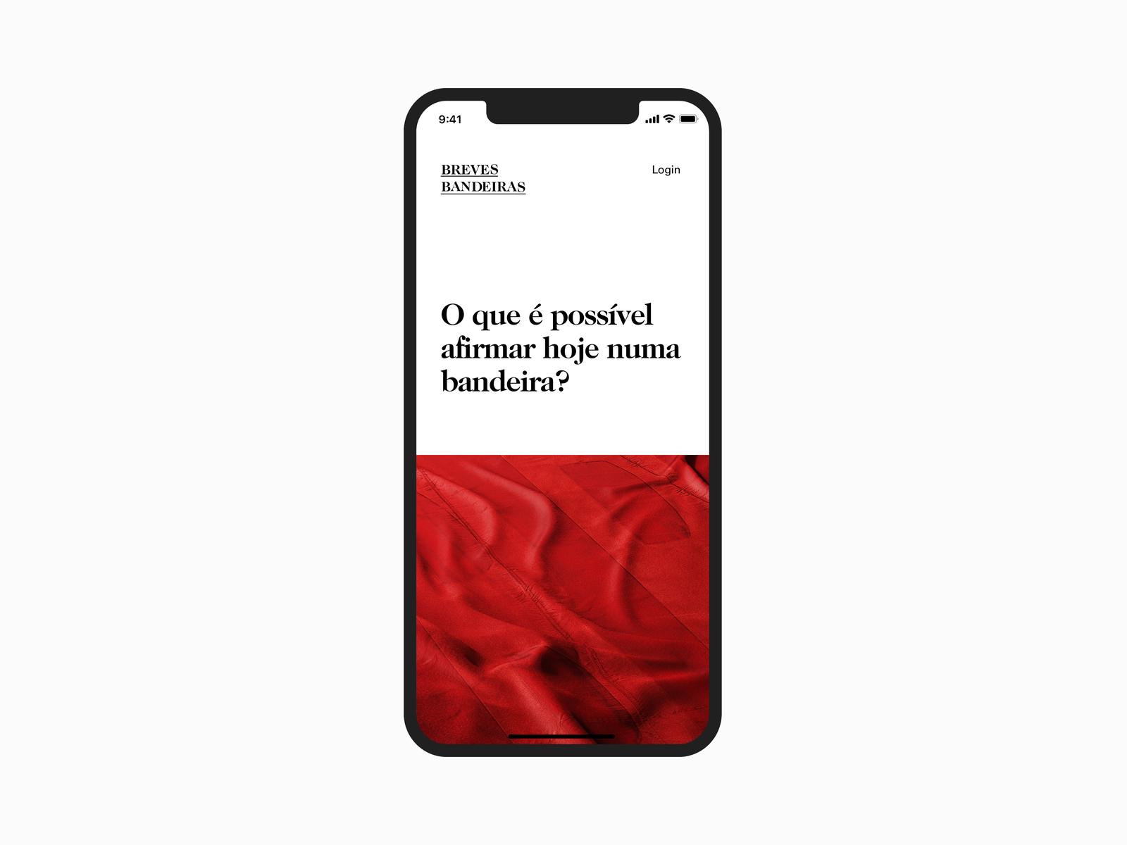 Breves Bandeiras -Auction Site brazilian type font serif black minimal caslon design interface web countdown