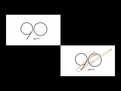 BandaSãoSebastião | 90anos designers brazilian designer graphicdesign portfolio brazil brazilian concert band symphony orchestra graphic design brand identity