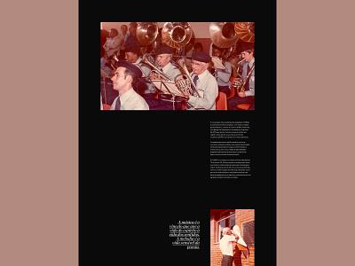 BandaSãoSebastião | 90anos site web digital digital design graphic design portfolio concert band symphony orchestra graphic design brand identity