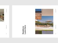 Agile. grid typography portfolio home editorial brand gray designer architect graphic design architecture brazil