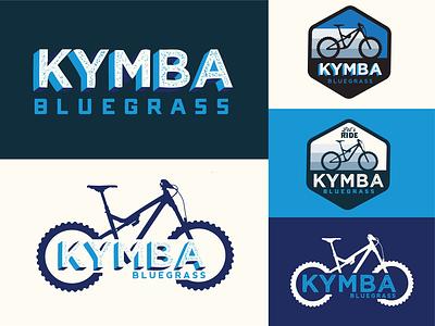 KYMBA Bluegrass rebrand branding logo design mtb mountain biking