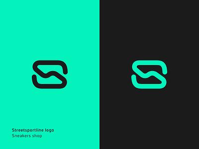 Streetsportline logo streetsportline sport mark logos logo glyph emblem branding