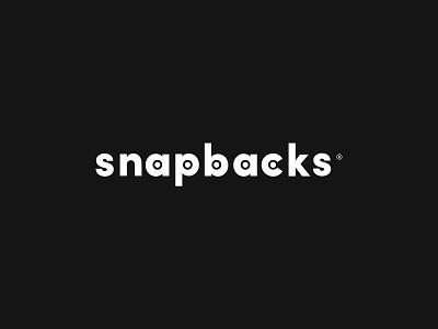 Snapbacks Brand minimal minimalism headwear snapback black logo brand