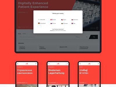 Adastra Webdesign Concept adastra interaction website webdesign ux ui