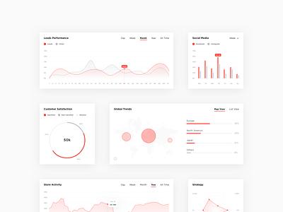 Adastra Webdesign Concept - Graphs graphs adastra ux ui website webdesign