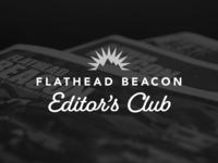 Flathead Beacon - Editors Club Logo
