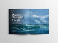 Lake Missoula - Flathead Living Magazine Feature Layout
