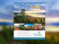 Enjoy Yourself - Discover Kalispell Ad Campaign