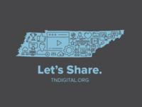 Digital Content Provider T-shirt concept