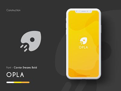 Opla logo app design branding logodesign logo