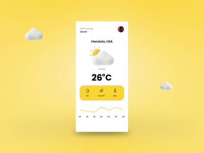 Weather animation mobile app design mobile app weather app layoutdesign website weather