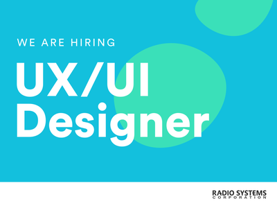 Now Hiring hiring uxui ux ui iot job listing job