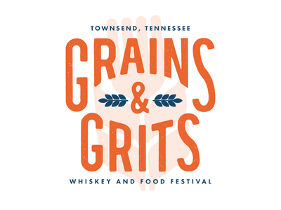 Grains & Grits Logo Variation  logo whiskey grains design tn tennessee vector texture identity