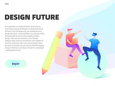 Design Future illustration