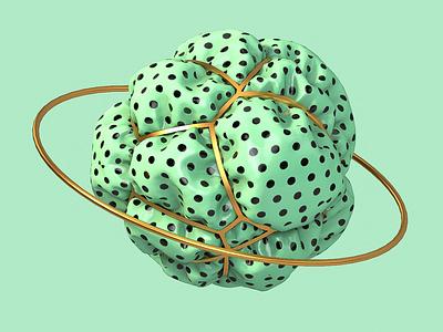 Lunares spheres design c4dart 3d abstract design art c4d 3dartist cinema4d clothing 3dart