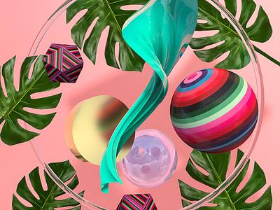 Peruvian gradients blender c4d 3dart illustration art 3dartist branding cinema4d abstract design 3d