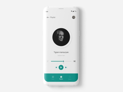 UI/UX Design ui designer ux designer minimalism player music app android app app design mobile app design mobile ui designer uxdesign uidesign design uiux ui  ux ui