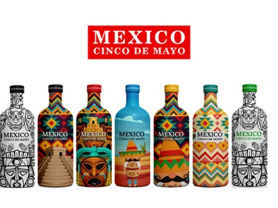 Package design packaging design packagingpro bottle mexico wine package design dribbble illustrator design packagedesign package branding illustration logodesigner brand creative logodesign packaging