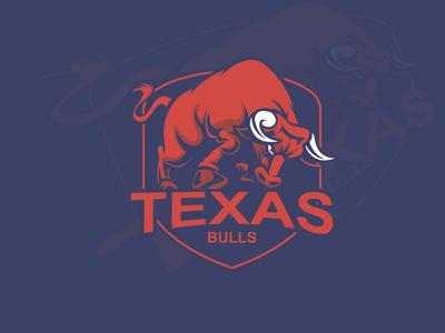 Logo Design For Teas Bulls