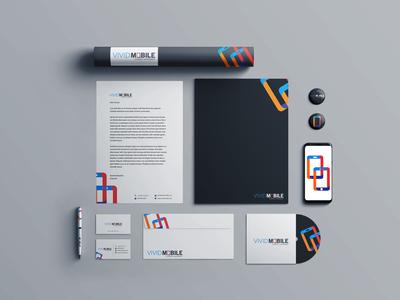 Logo Design & Branding for vividmobile company