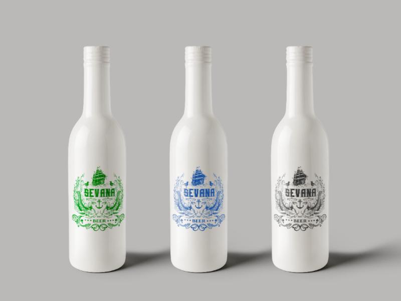 Beer package design label beer packagedesign