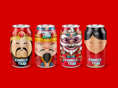 Ice Tea packaging design illustrator china tea creative ice tea china logo packaging design branding logodesigner brand illustration packaging package design packagedesign package